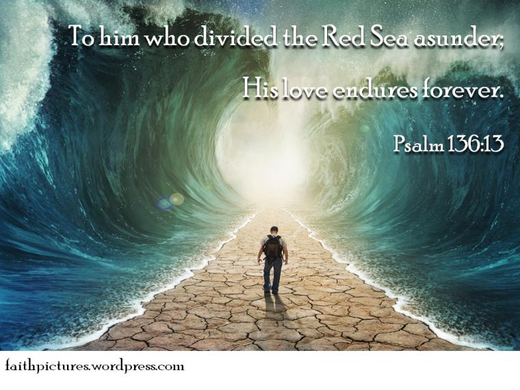 Psalm 136 13